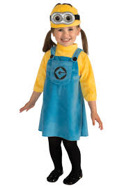 Toddler Costumes Halloween Toddler Girls Minion Costume
