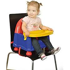 High Chair That Sits On Chair Chicco Pocket Snack Booster Seat Mandarino Amazon Co Uk Baby