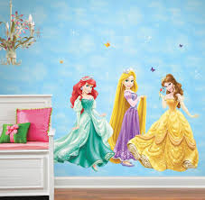 Princess Wall Mural by Disney Belle Wall Accent Glamour Princess Giant Sticker Obedding Com