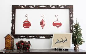 simple christmas decor make it and love it