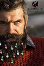 beardaments beard ornaments 12 colorful baubles