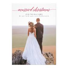 newlywed cards greeting photo cards zazzle