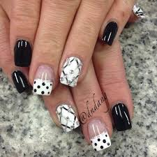 80 black and white nail designs for 2017 criss designs and