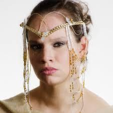 wedding headdress custom elven wedding headdress thyme2dream online store