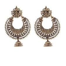 chandbali earrings oxidised chandbali earrings at rs 75 pair r t nagar bengaluru