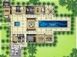 luxury house plans with pools luxury villas plans exclusive bedroom home plans blueprints 39374