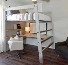 Desk Transforms Into Bed This Loft Bed Is Designed To Be Both Durable And Functional While