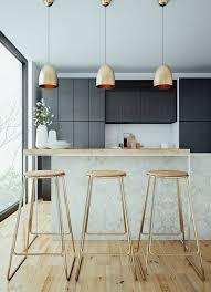 bar de cuisine moderne comment adopter le tabouret de bar dans l intérieur moderne