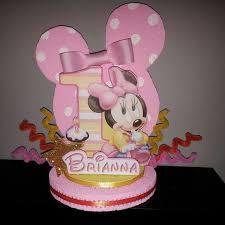 minnie mouse 1st birthday party ideas minnie mouse 1st birthday party favor cake topper by designzbyglo