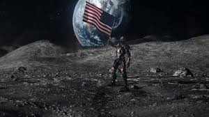 Picture Of Flag On Moon Image Ray Palmer Retrieves The Last Fragment Of The Spear From