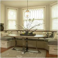 Banquette Bench Seating Dining by Kitchen Marvelous Banquette Window Treatments Ideas With White