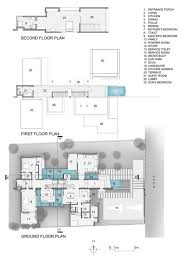 floor plan of modern family house modern open concept house in bangalore idesignarch interior