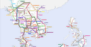 Southeastern Asia Map by Proposed Railways In Southeast Asia A Subway Style Map Of Future