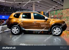 jeep renault moscow russia august 25 orange jeep stock photo 77252524
