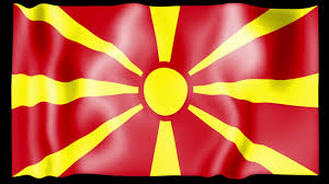 Macedonian Flag Stock Footage Waving Macedonia Flag Animation Flag Photo Shared By