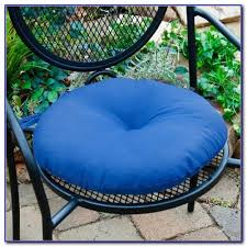 round outdoor bistro chair cushions chairs home design ideas