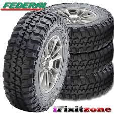 Federal Couragia Mt Tread Life 4 Federal Couragia M T 33x12 50r15 Mud Tires 33x12 50x15 6 Ply