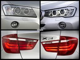 bmw x3 2012 vs 2013 2015 bmw x3 facelift vs bmw x3 pre facelift photo comparison