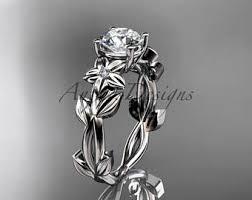 flower engagement rings flower engagement ring etsy