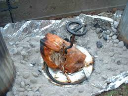can turkey stand cooking a turkey in a trash can