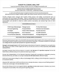 Seeking How To Project Manager Resume Summary Qualifications Certified Entry