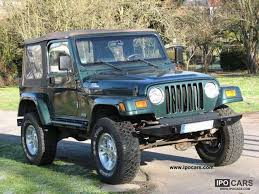 2000 jeep wrangler specs 2000 jeep wrangler 4 0 car photo and specs