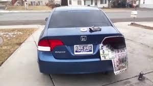 2001 honda civic tail lights how to tint 8th gen civic sedan tail lights youtube