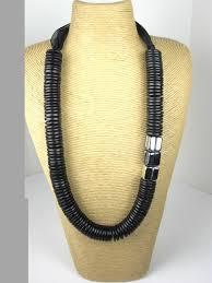 black necklace long images Long black necklace chunky long black necklace jpg