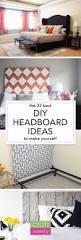 diy headboards 33 unique headboard ideas craft weekly