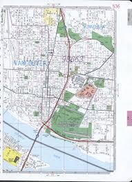 Walla Walla Washington Map by Vancouwer City Wa Road Map
