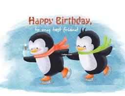 Penguin Birthday Meme - 77 famous best friend birthday greetings golfian com