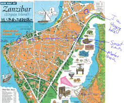 I 35 Map A Map And Orientation To Zanzibar The Adventures Of An Early