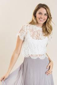 white lace shirley white lace capsleeve top morning lavender