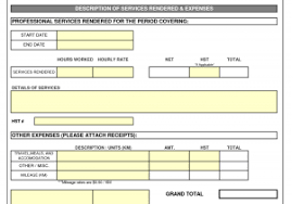 sample of service invoice and hoover receipts free printable