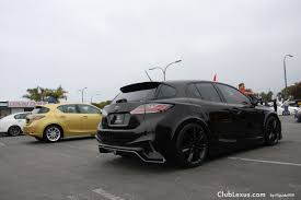 lexus ct 200h f sport tuning spotted 2011 ct 200h modified toyotafest 2011 clublexus