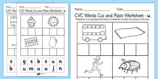 cvc words worksheets primary resources primary page 1