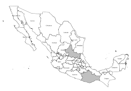 Mexico Map With States by Labeling When Labelling Polygons Not All Labels Are Displayed