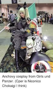 Girls Und Panzer Meme - yattar japan anchovy cosplay from girls und panzer cper is