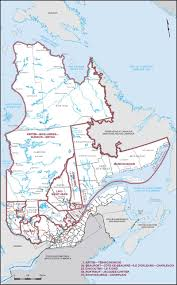 Quebec Map Map Of Quebec Elections Canada Online