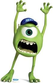 mike wazowski disney pixar monsters university lifesize standup