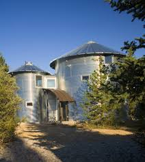 Grain Silo Homes by Montesilo