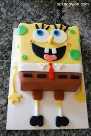 spongebob squarepants cake baked by jen spongebob squarepants cake