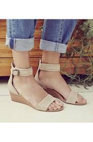 ugg wedge sandals sale ugg australia char mar ankle cuff wedge sandal