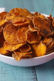 sweet potato recipes thanksgiving best sweet potato chips recipe u2014 delish com