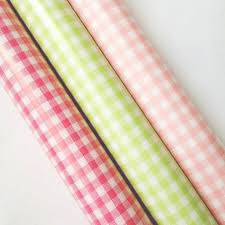 gingham wrapping paper pink gingham checkered japanese wrapping paper a stationery