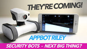 Home Security by World U0027s First Home Security Robot Appbot Riley Best Of 2017
