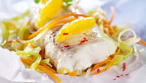 cuisiner du colin recette dos de colin au court bouillon de muscadet et citron jaune