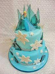 easy frozen birthday cake idea