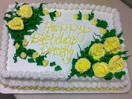 yellow flower birthday cake cakecentral com