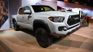 new toyota truck 2017 toyota tacoma trd pro unveiled at chicago auto show